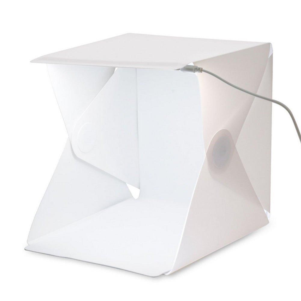 Zhuhaixmy LED Bewegliches Faltendes Studio Weiß-Fotografie-Zelt + 2PCS weißes / schwarzes Backdrops-Installationssatz