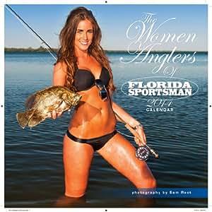 The Women Anglers of FLORIDA SPORTSMAN 2014 Wall Calendar ~ Fishing ~ Florida Sportsmen Magazine ~ 1CFS14