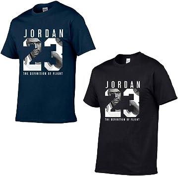 Jordan 23 Hombres Camiseta Algodón Estampado Algodón Camisetas Hip Hop, 2pcs: Amazon.es: Bricolaje y herramientas