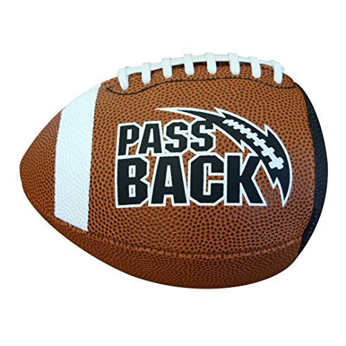 Passback Football - Official Size (13 and Over) - Composite - Training Football Bounce Back Training