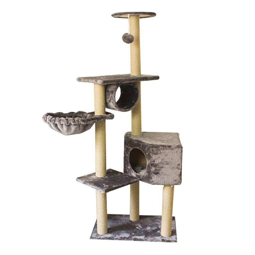 2 Queen Boutiques Cat Climbing Frame Series 1023 Cat Tree Cat Climbing Frame Sisal Cat Toy Cat Jumping Platform (color   2)
