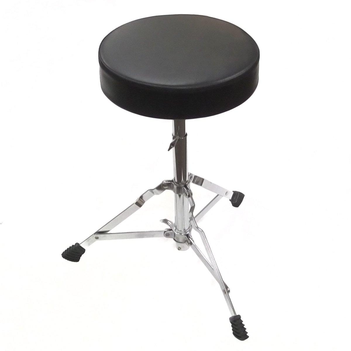 Performance Plus JDT1 Drum Throne Junior Size Stool for 3 Piece and 5 Piece Drum Set