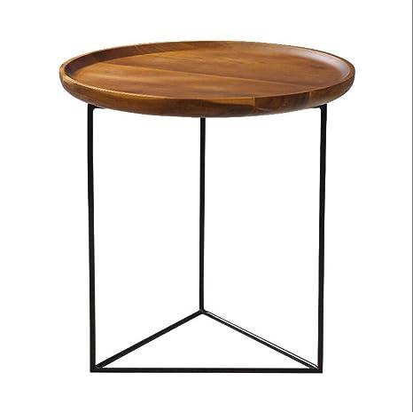 Amazon Com Jun Living Room Sofa Coffee Table Solid Wood Tray