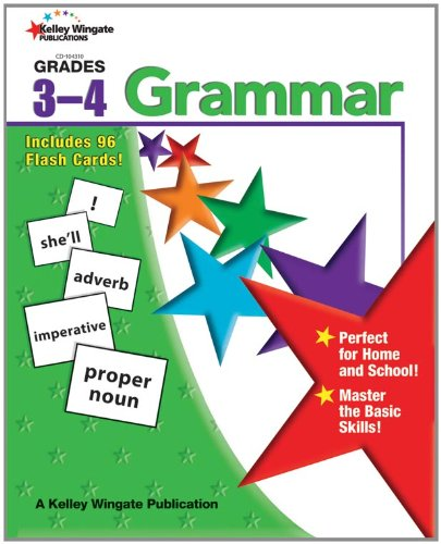 Read Online Grammar, Grades 3 - 4 pdf epub