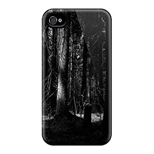High Grade Douglasjoy2014 Flexible Tpu Cases For Iphone 6plus - Dark Trees Black Friday