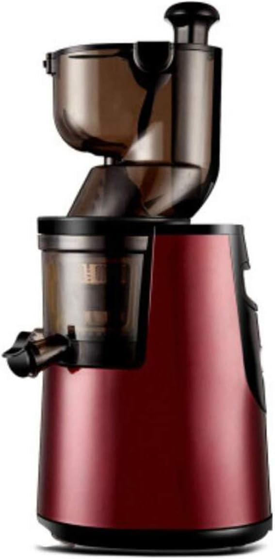 Multi-Function Juicer Machine Large Diameter Professional Blender Fruit Soy Milk Nutrition Center Red,110V