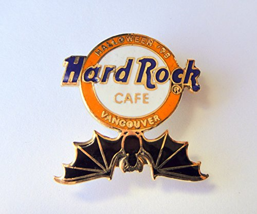 Hard Rock Cafe Vancouver Halloween 98 HRC Logo With Black -