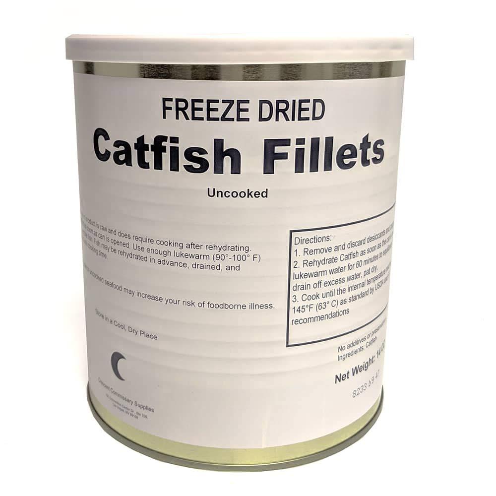 Freeze Dried Catfish Filet