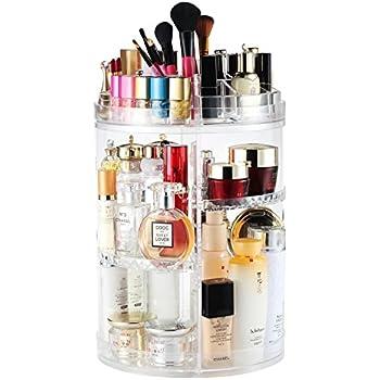 Amazon Com Jerrybox 360 Degree Rotation Makeup Organizer