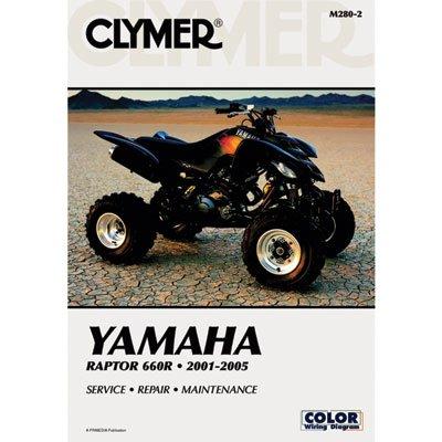 Clymer Repair Manuals for Yamaha RAPTOR 660 2001-2005