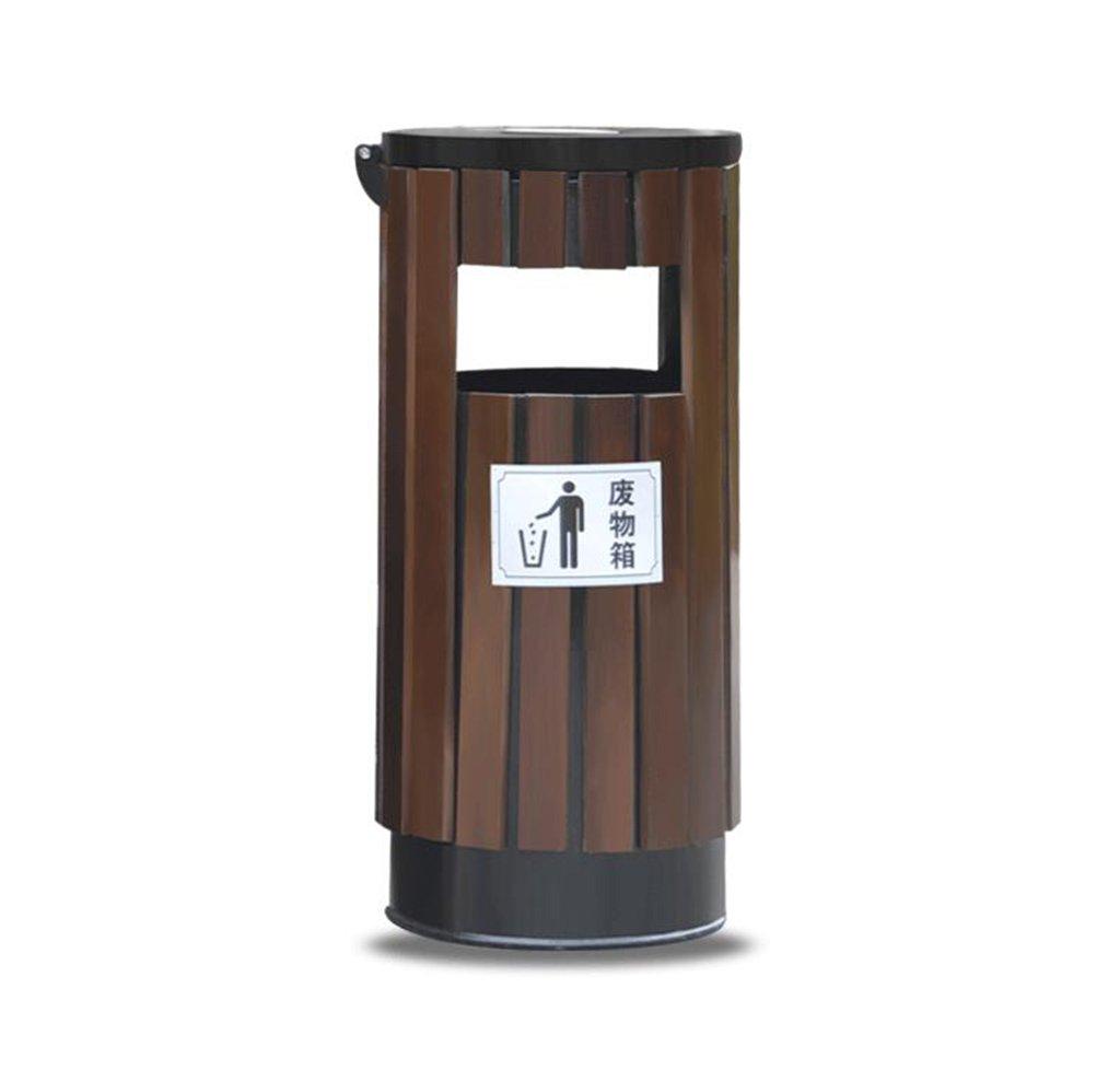 TGG 屋外用ゴミ箱、ゴミ箱、庭園、風景区域衛生学校屋外公園コミュニティレザーボックス38 * 82CM 清潔できちんと (色 : B) B07DK94SLK 18399 B B