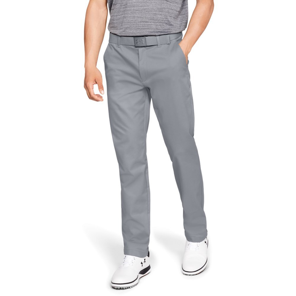 Under Armour Men's Showdown Chino Pants, Steel (035)/Steel, 38/34 by Under Armour