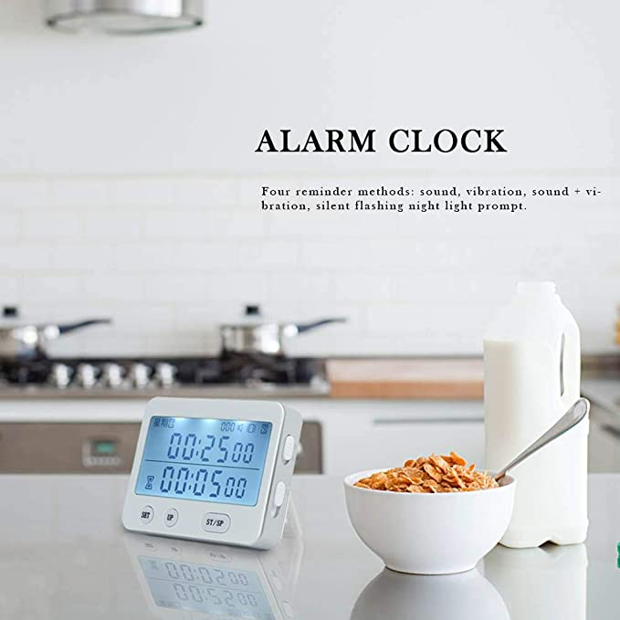 HoneybeeLY Despertador Digital, 4 Modos de Alarma, Cuenta ...