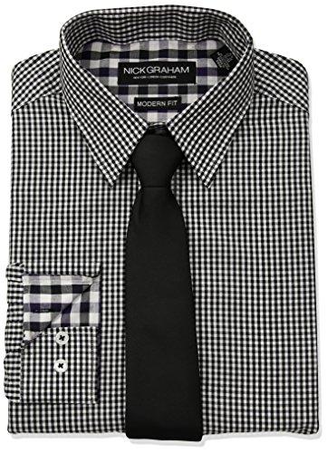 Check Shirt Tie - 4