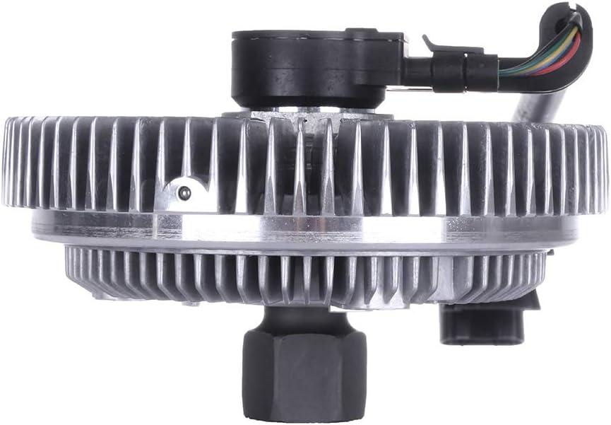 cciyu Cooling Fan Clutch Fit for 02-09 Buick Rainier Chevrolet Trailblazer GMC Envoy Isuzu Ascender Oldsmobile Bravada Saab 9-7x 622-001