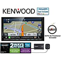 Kenwood DNX773S DVD Receiver with Bluetooth HD Radio and SiriusXM Satellite Radio with a FREE SOTS Air Freshener