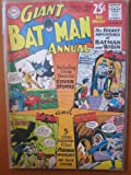 Giant Batman Annual #4, Winter 1962-63. Secret Adventures of Batman and Robin