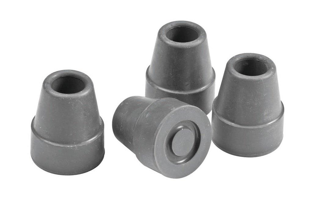 Moore Medical Quad Canes Cane Tips 1/2 - Pkg of 4