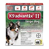 K9 Advantix II for dogs 21-55 pounds - 4 month supply