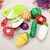 Cutting Slicing Plastic Pretend Fruit Vegetable Food Toy Baby Gift.