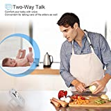 "Newborn Baby Monitor with Night Vision Camera (3.5"" LCD Screen) Wireless Two-Way Audio, Temperature Sensor, Lullabies, Eco Mode, Feeding Clock 