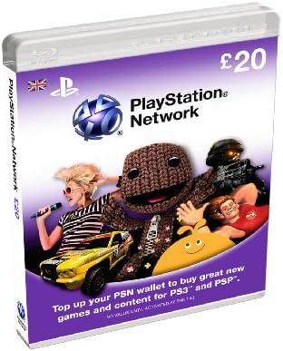 PlayStation Network Card - £20 (PlayStation Vita/PS3) [Importación ...