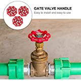 DOITOOL 3pcs Replacement Gate Valve Handwheel Hose