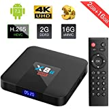 TICTID X8T Max 2G RAM 16G ROM TV Box Android 7.1 Amlogic Quad Core Smart TV Box Support 3D/4K/H.265 Android Box