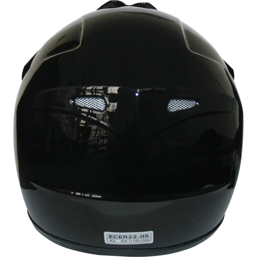Brand:Leopard Blue XL 55cm LEO-X15 Children Kids Motocross Full Face Motorbike Helmet - Off Road ECE-2205 Approved