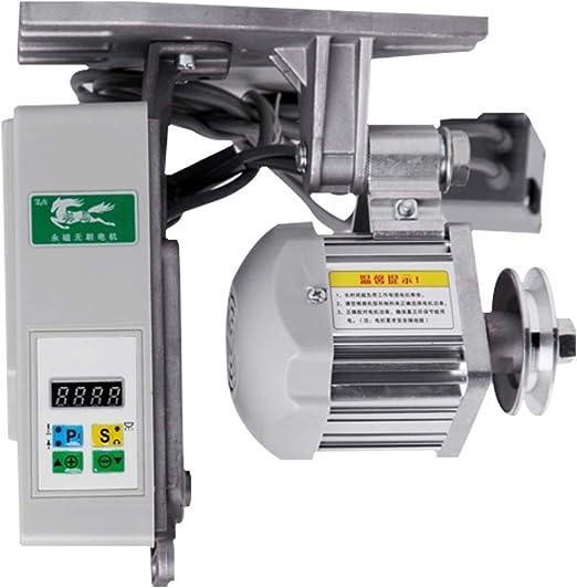 Fayelong Máquina De Coser Industrial Sin Escobillas Servomotor Eléctrico Velocidad Ajustable Sincronizador De Ahorro De Energía Motor De Fase, 220 Voltios, 3 / 4HP, 550W: Amazon.es: Hogar