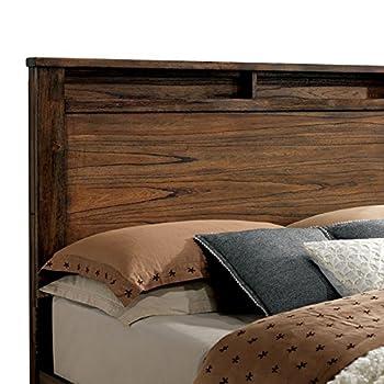 Elkton Oak Finish King Size 6-Piece Bedroom Set