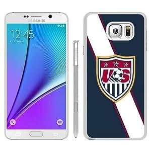 Unique Samsung Galaxy Note 5 Skin Case ,USA Soccer 4 white Samsung Galaxy Note 5 Cover Fashionable And Durable Designed Phone Case