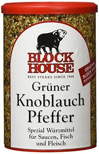 Block House Grüner Knoblauch Pfeffer, 1er Pack (1 x 200 g)