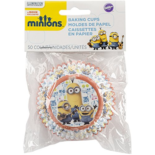 Wilton 415-4600 50 Count Despicable Me Minions Baking Cups, Multicolor -