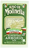 Molinella Italian Arborio Rice, 2.2-Pound Boxes (Pack of 5)
