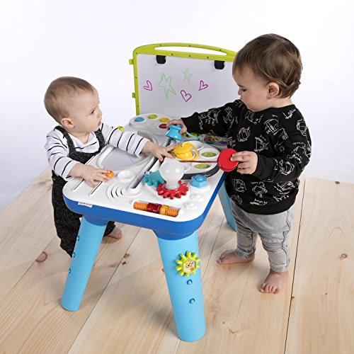 51McYQ7dfYL - Baby Einstein Curiosity Table Activity Station Table Toddler Toy with Lights and Melodies, Ages 12 months and up