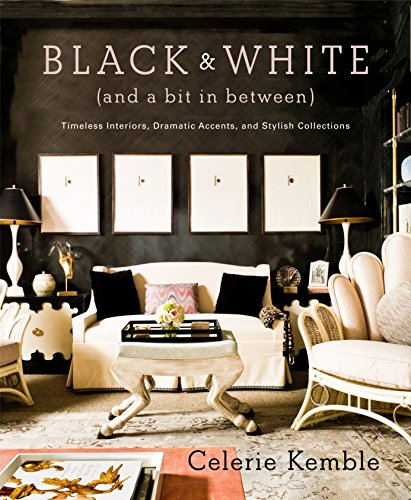 Black and White (and a Bit in Between): Timeless Interiors, Dramatic Accents, and Stylish Collections - Stylish Accent