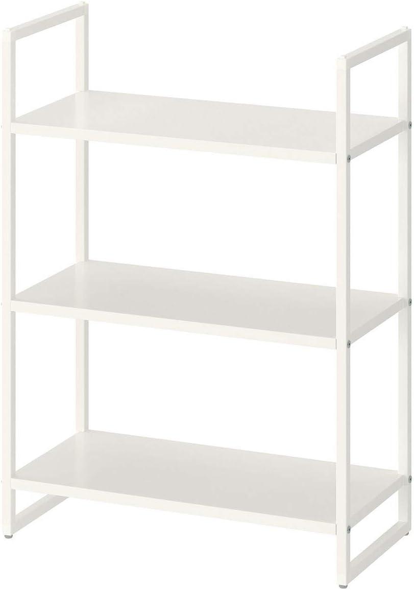 IKEA JONAXEL - Estantería (25 x 51 x 70 cm), color blanco ...