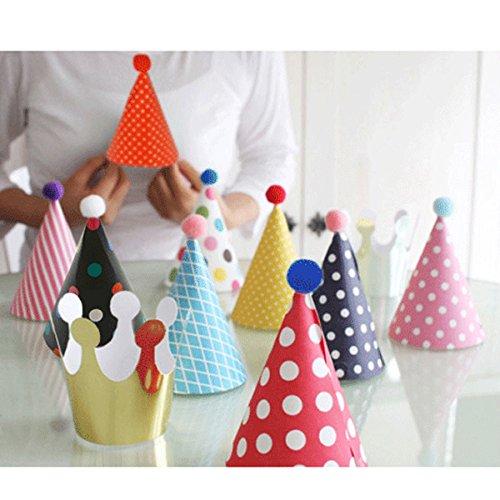 kids birthday cones - 8