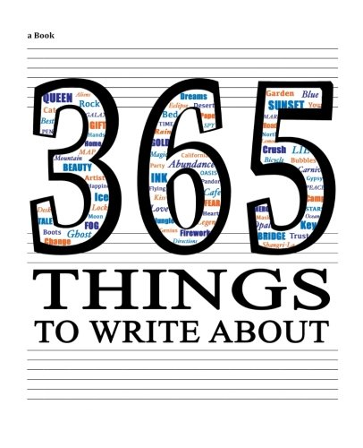365 Things to Write About!