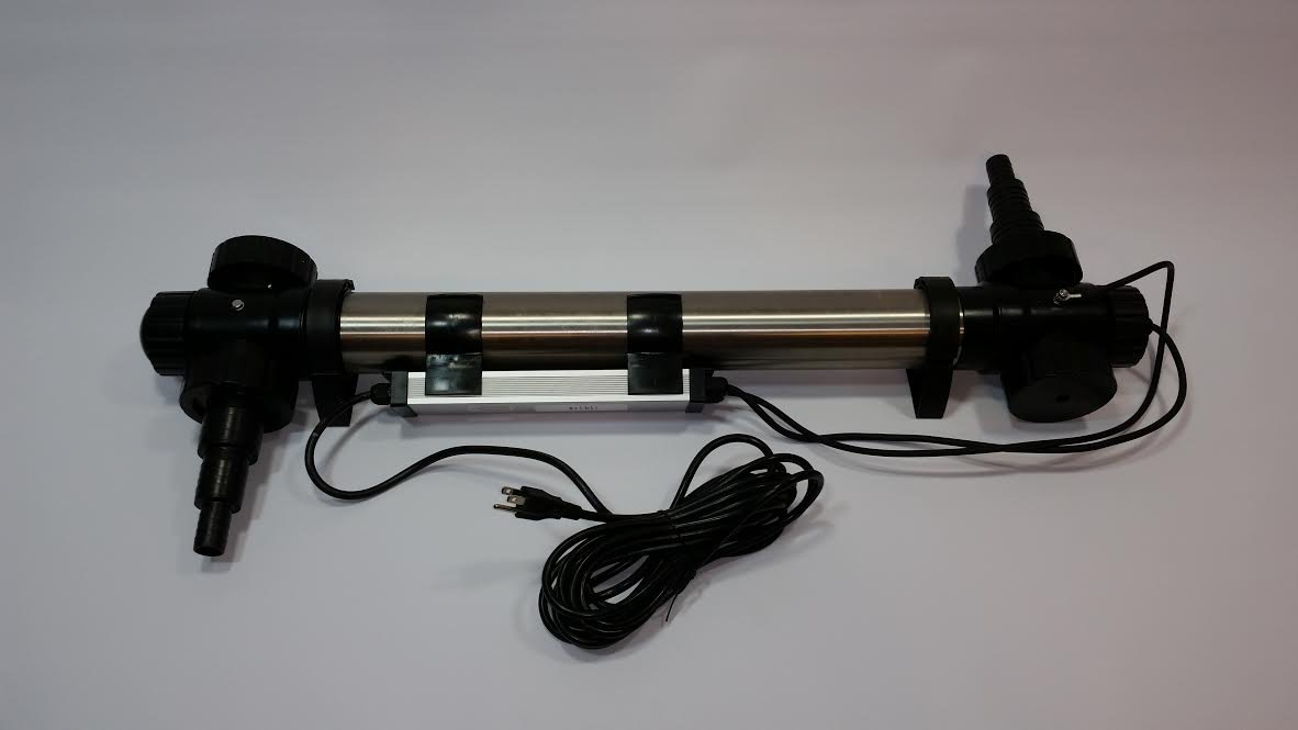 Stainless Steel Quality Commercial Grade UV Sterilizer 75 Watt for Ponds or Aquariums