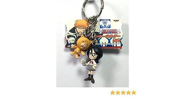 Automotive Rukia /& Kon Bleach Twin Mascot Figure Keychain
