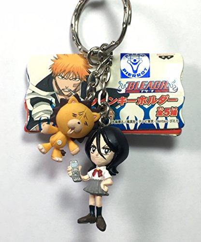 Rukia & Kon - Bleach Twin Mascot Figure Keychain