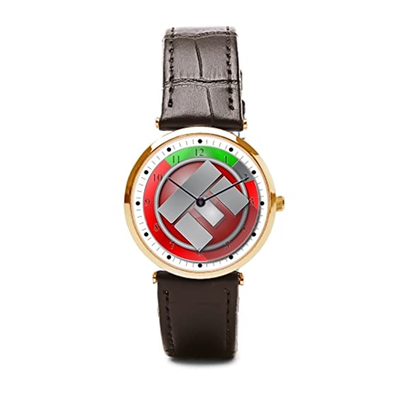 Cielo estrellado barato de cuero relojes sobrecarga todo lo para hombre reloj correa de piel: Amazon.es: Relojes