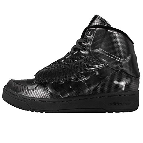 adidas JS Wings Molded, zapatillas para mujer–negro–negro, EU Gris - gris
