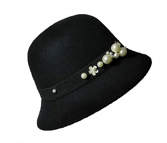 1920s Style Hats Tobe-U Cloche Bucket Bowler Fedora Floppy Derby Vintage Felt Hat Cap Women $9.99 AT vintagedancer.com
