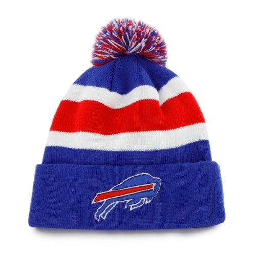 NFL Buffalo Bills Men's Breakaway Knit Cap, One Size, Sonic Blue