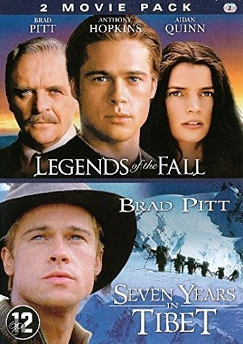 Seven Years In Tibet + Legends of the Fall (2 DVD) by Brad Pitt