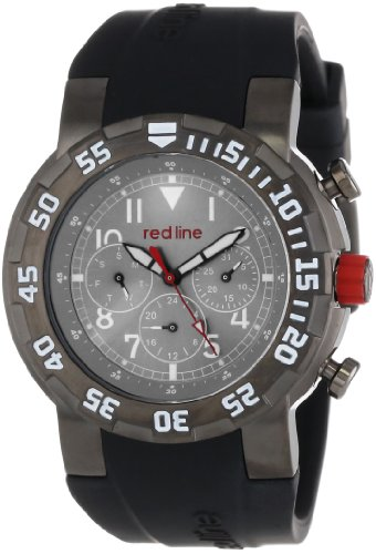 Red Line RL-50027-GUN-014W-BB Stainless Steel Watch with ...