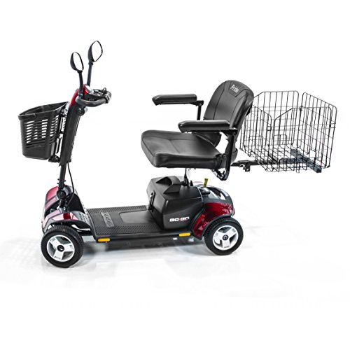 Pride Mobility Go-Go Sport 4-wheel Travel Pride Electric Scooter+ Rear (Rear Basket Set)